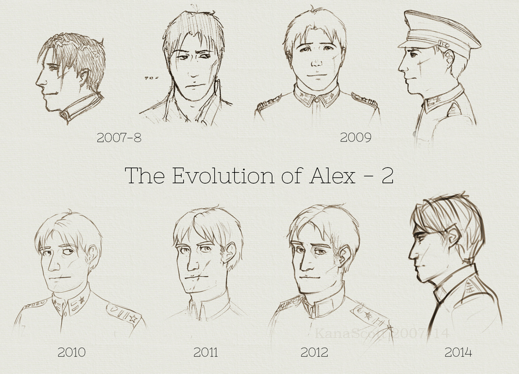 Alex evolution 2 by KanaScott