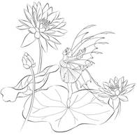 Lotus Fairy by TokiSeraph