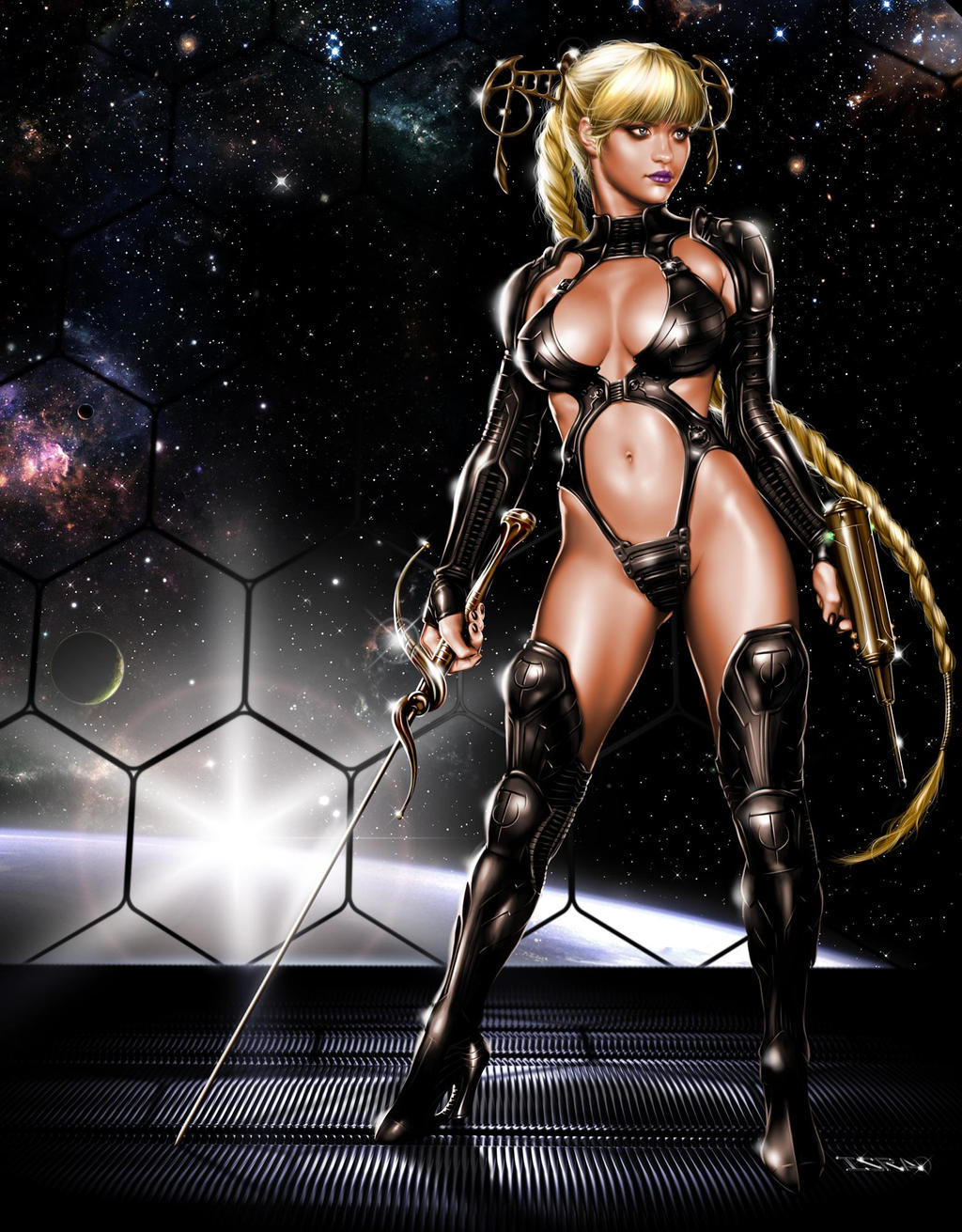 Sexy sci-fi women adult films