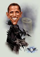 Obatman, the Dark Knight