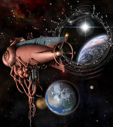 A Bridge Between Worlds by IsraLlona