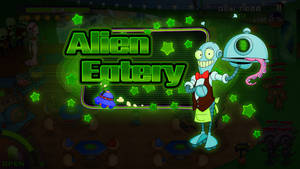 Game concept: Alien Eatery Cover by IsraLlona