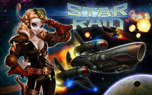 Game concept cover: Star Raid by IsraLlona