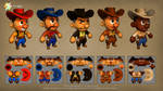 Game concepts: K.O. Corral textures