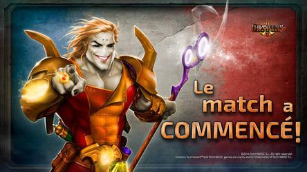 Invokers Tournament: Le Match