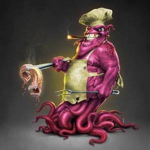 Alien Grill Chef