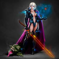 Elf Princess Warrior by IsraLlona