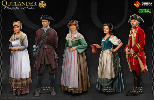 Outlander: Characters VII