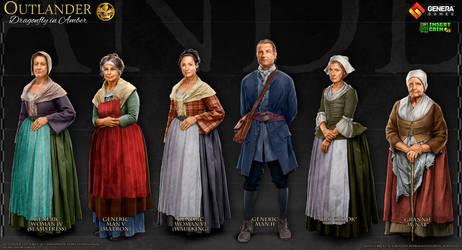 Outlander: Characters VIII
