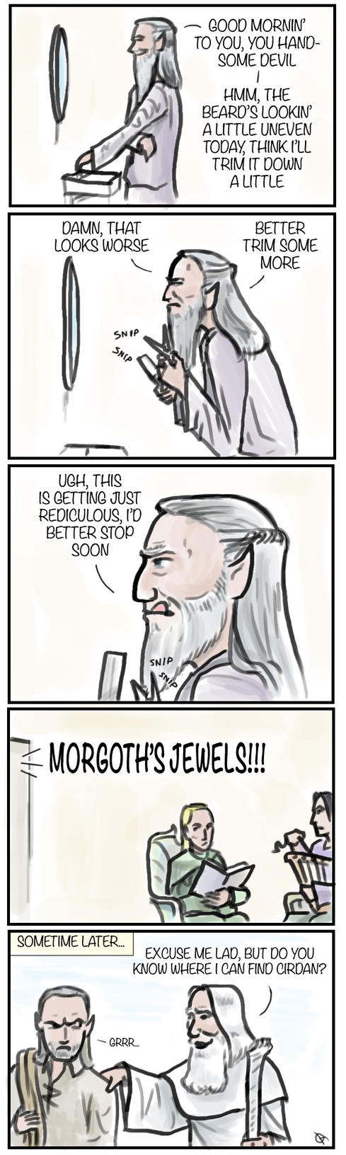 Cirdan's Beard by McTalon