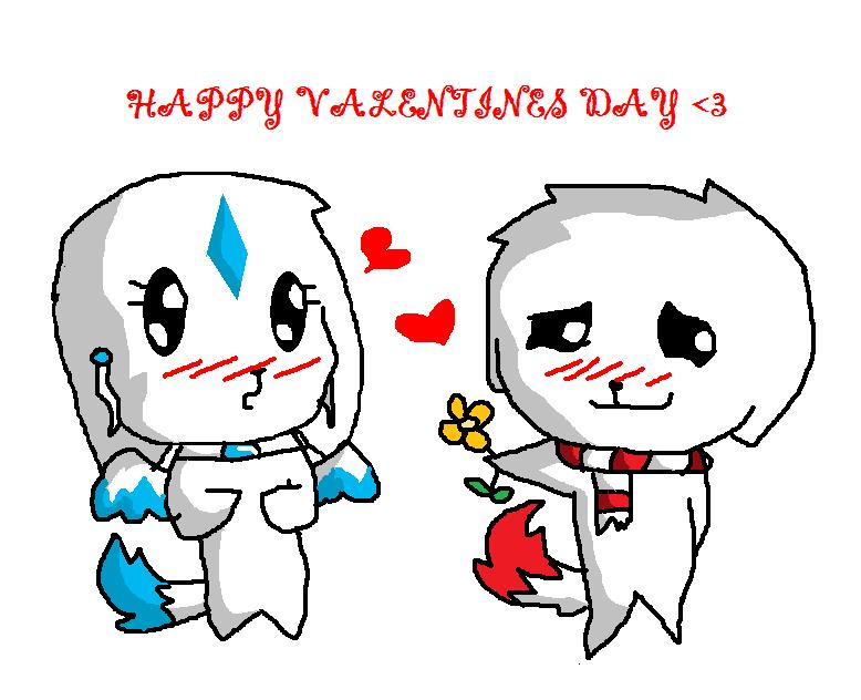Happy valentines day by chibi the wolf on deviantart - Happy valentines day anime ...