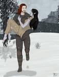 The Lost Dragonborn (story scene) - Commish