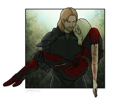 Exiled [Commission] by RoslynnSommers