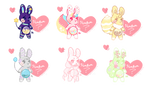 [open 5/6] HunBun Batch by SquiggleCakes