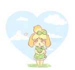 Chibi Isabelle by SquiggleCakes