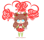 .:Gift:. KaeChan - Sailor Rose Red by SquiggleCakes