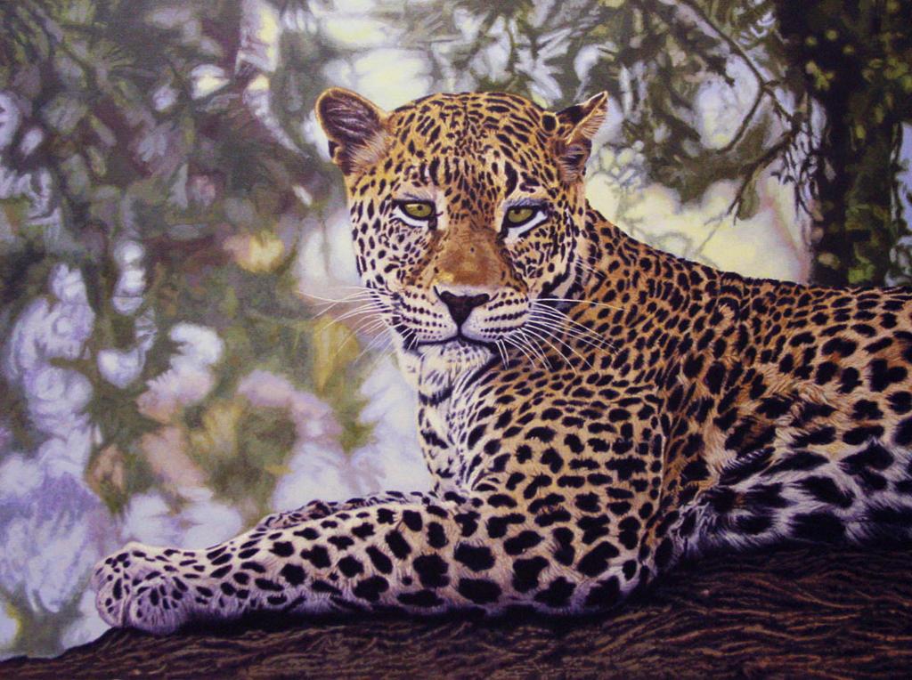 Another Leopard by WillemSvdMerwe