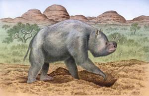 Zygomaturus trilobus by WillemSvdMerwe