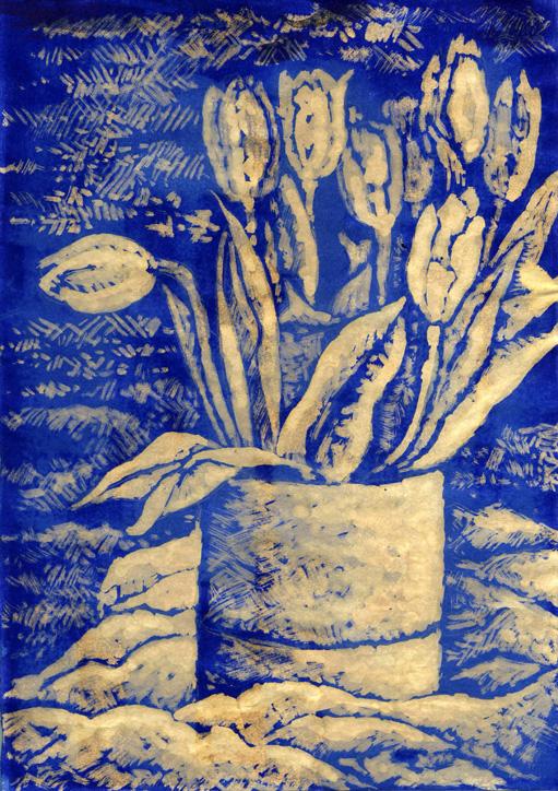 Ink and Bleach Still-LIfe by WillemSvdMerwe