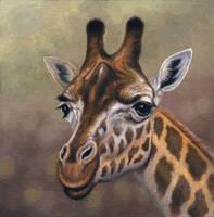 Female Giraffe by WillemSvdMerwe