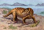 Cynognathus crateronotus