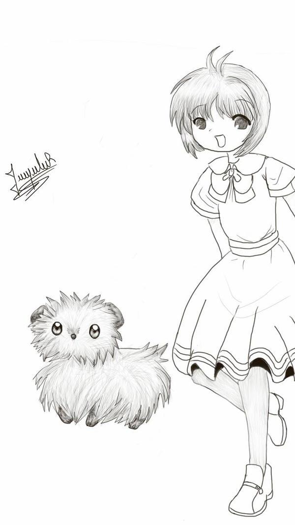 little sketch  by dark-kim