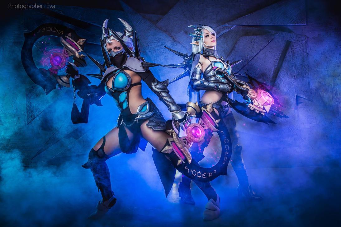 Kali and Hunter - Velskud set by ArisRUS