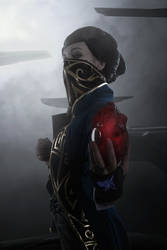 Dishonored 2 cosplay Emilly Kaldwin