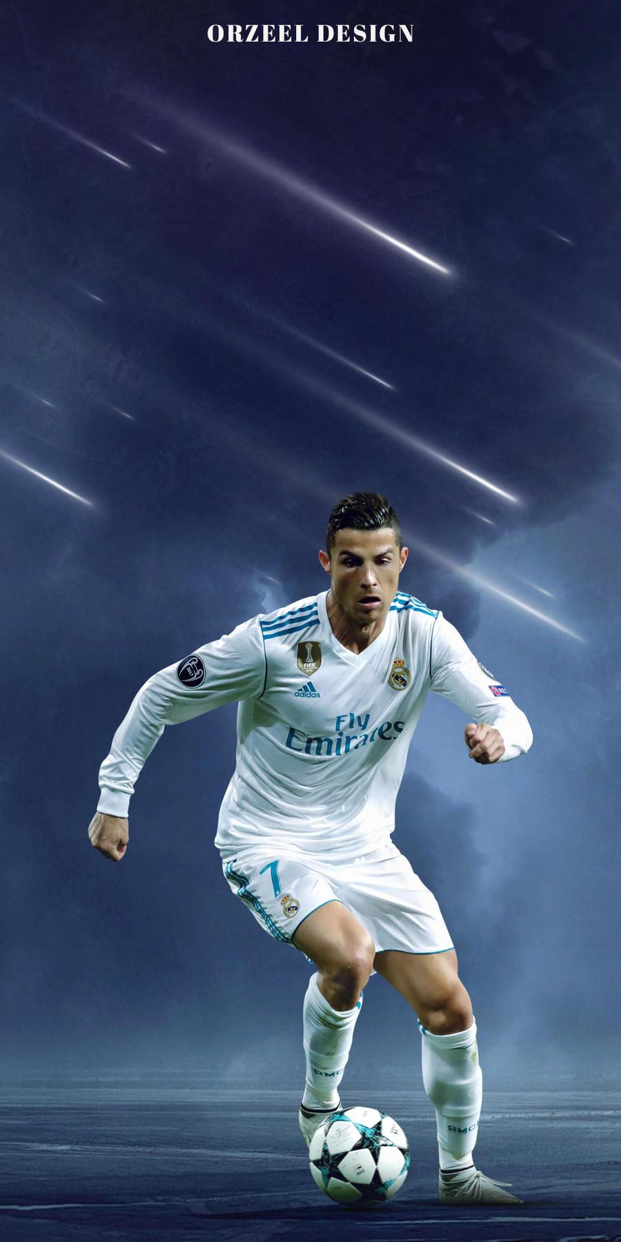 Cristiano Ronaldo Wallpaper Real Madrid By Orrrsell On Deviantart