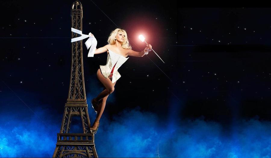 Lady Gaga - Eiffel Tower FRA by soaresden89