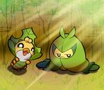 Sewaddle and Kurumayu
