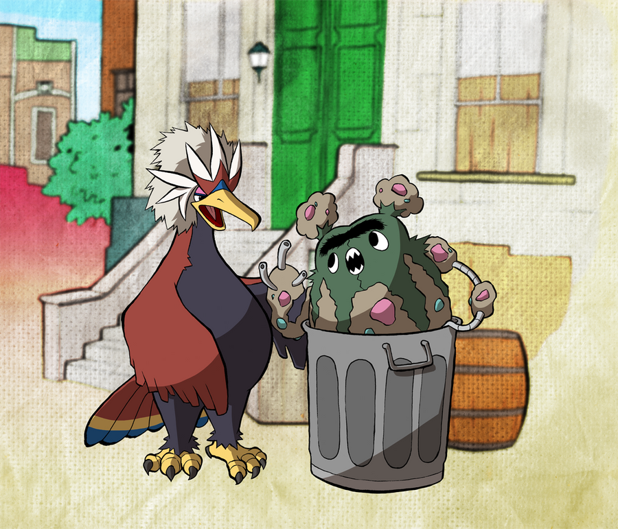 Garbodor The Grouch By Willdrawforfood1 On Deviantart