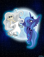 Raising the Moon by WillDrawForFood1