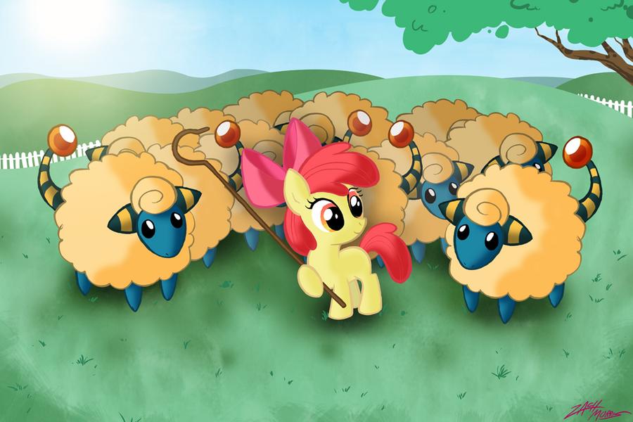 Apple Bloom Shepherd by WillDrawForFood1