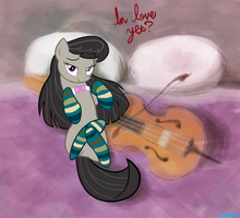 Octavia in Socks by WillDrawForFood1