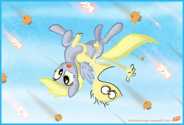 Derpy and Cheese by WillDrawForFood1