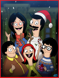 A Belcher Family Christmas by WillDrawForFood1