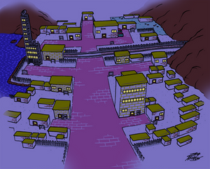 Goldenrod City (Night)