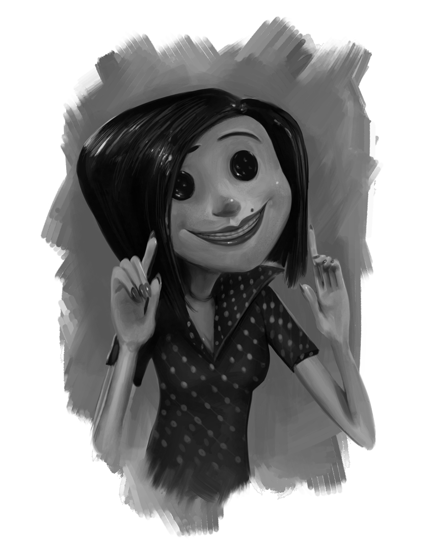 coraline's other mother-S.Knox by pointblizzy on DeviantArt