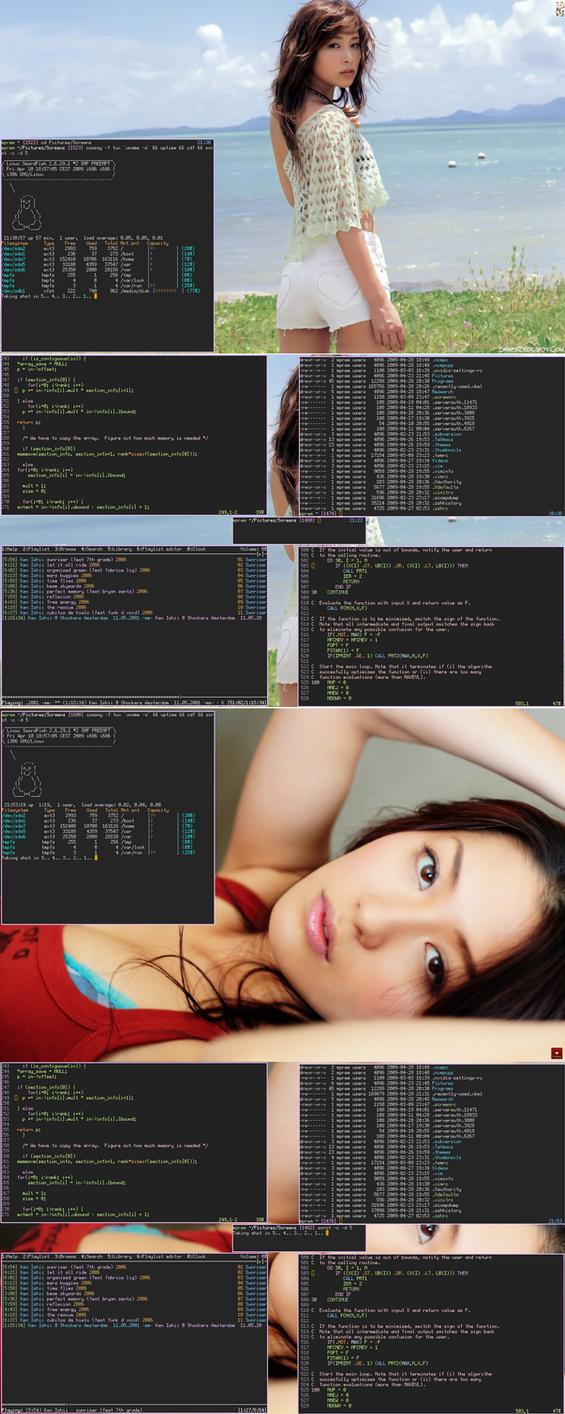 Sayaka+Haruna+Lunar Linux by pkmurugan