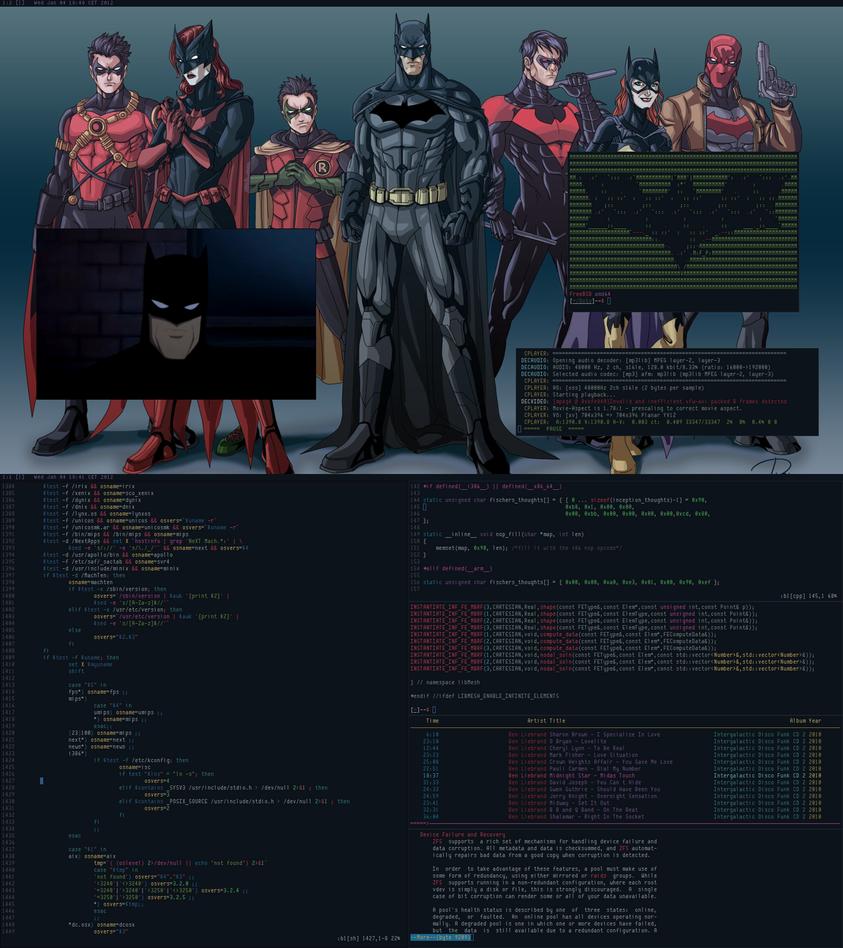 Dark Knight Year One FreeBSD by pkmurugan