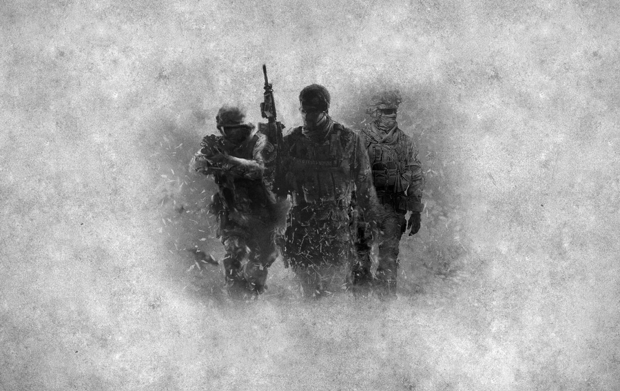 The Heroes of Modern Warfare by 95niltar