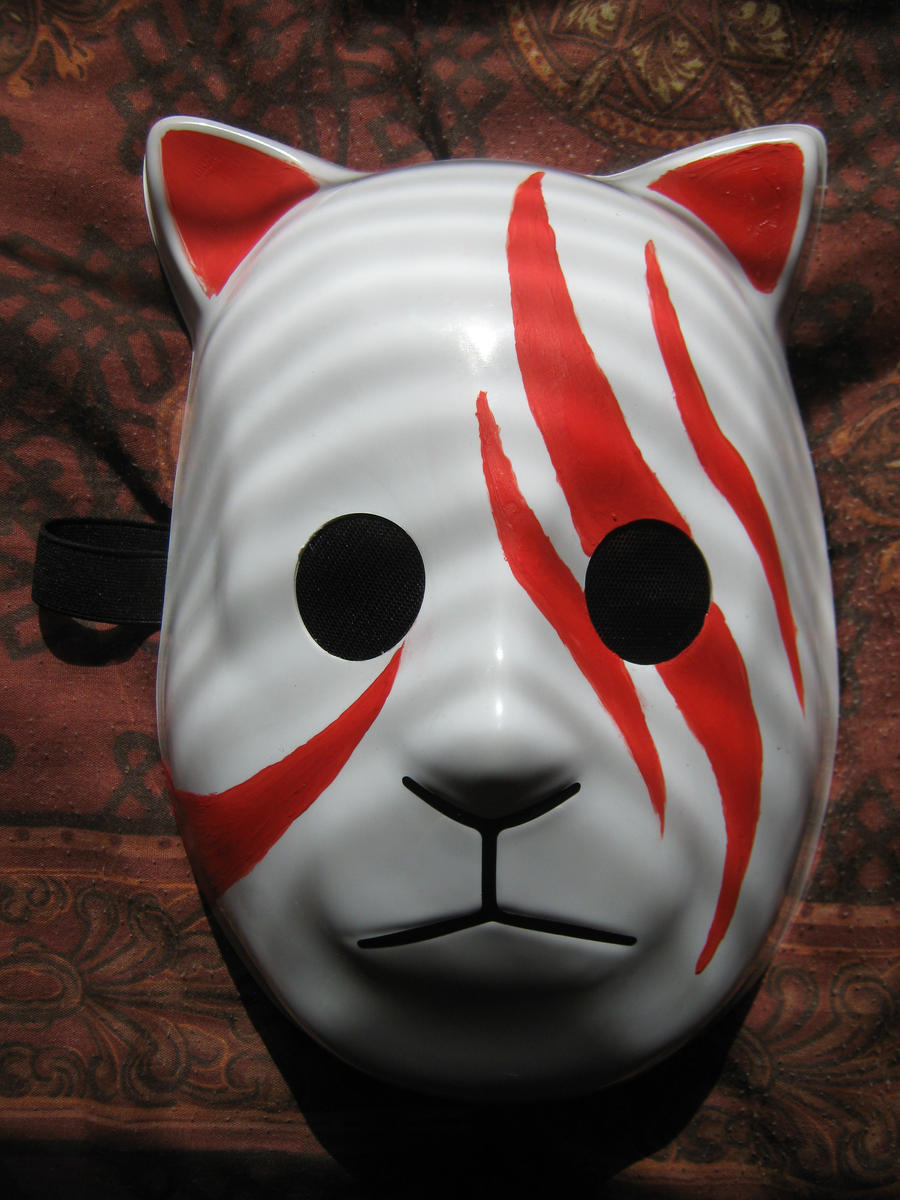 Hinata Anbu Mask by SimplySaraArt on DeviantArt