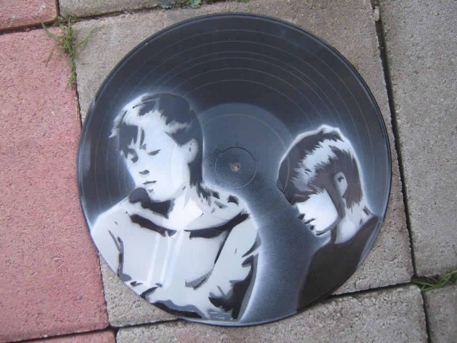 Tegan And Sara vinyl by SimplySaraArt