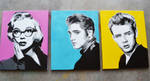 Monroe, Presley, Dean