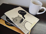 Monster Notebooks and Coffee