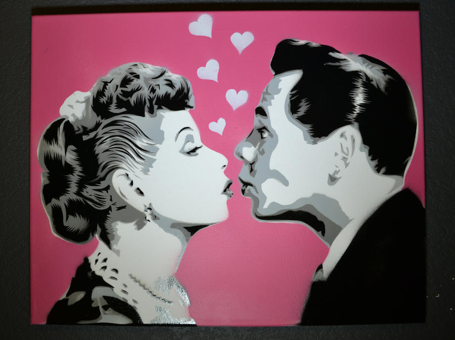 I love Lucy by SimplySaraArt