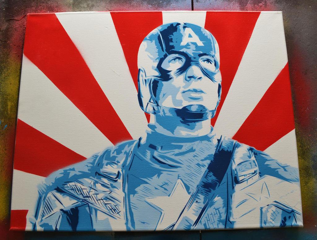 Captain America by SimplySaraArt