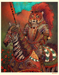 Knave of Stripes by AngelaRizza