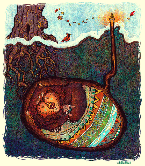 Hibernate by AngelaRizza